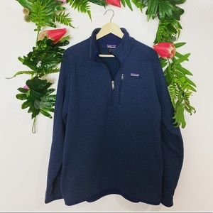 Patagonia men's navy better sweater ✨size XL
